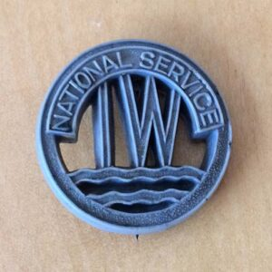 IW National Service Badge