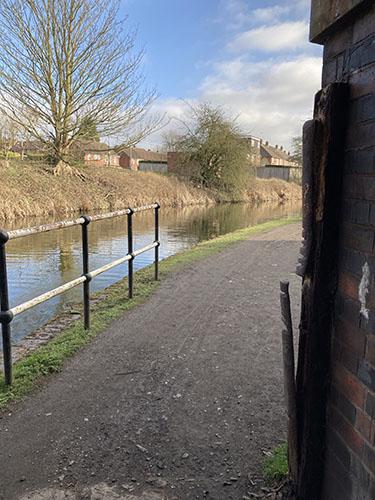 Looking through Dog Lane Bridge by Heather Wastie