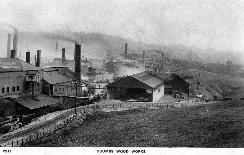 Coombs Wood Works postcard