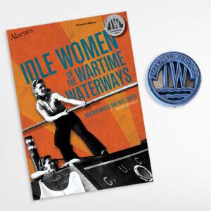 Idle Women book plus replica badge